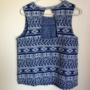 Old Navy Tops - Old navy patterned sleeveless top